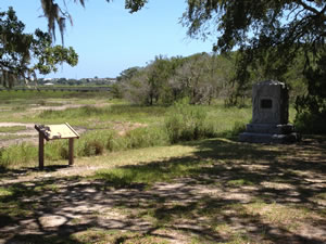 Bloody Marsh Battle Site on St. Simons Island