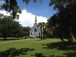 Lovely Lane Chapel St Simons Island Ga